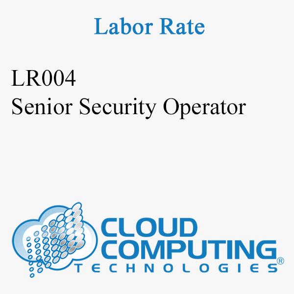 Senior Security Operator