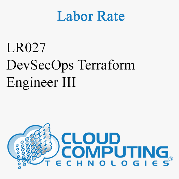DevSecOps Terraform Engineer III