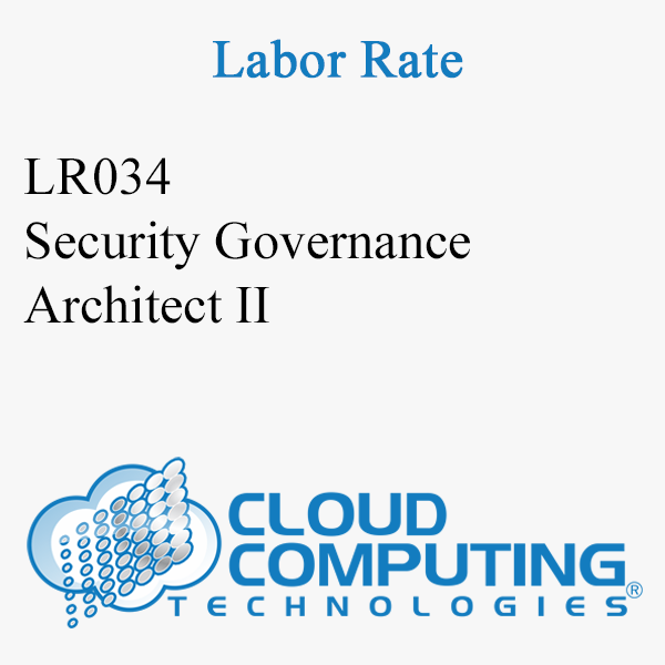 Security Governance Architect II