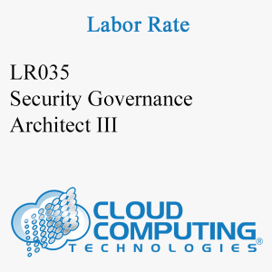 Security Governance Architect III