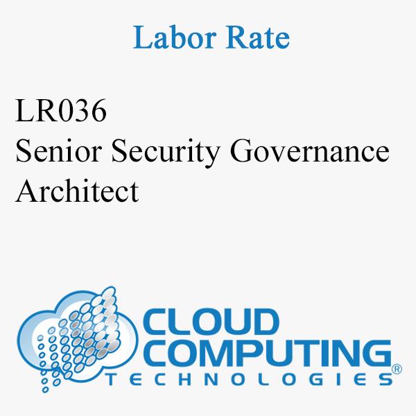 Senior Security Governance Architect