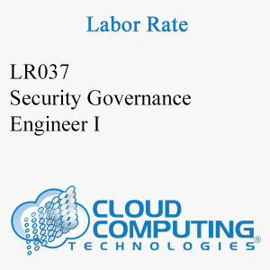 Security Governance Engineer I