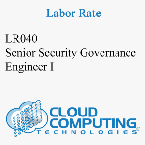 Senior Security Governance Engineer I
