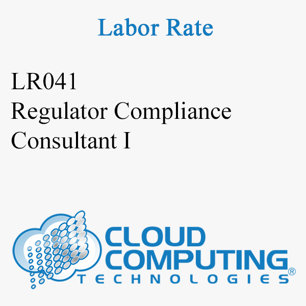 Regulatory Compliance Consultant I