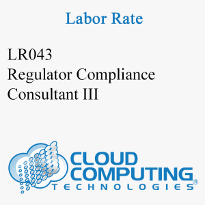 Regulatory Compliance Consultant III