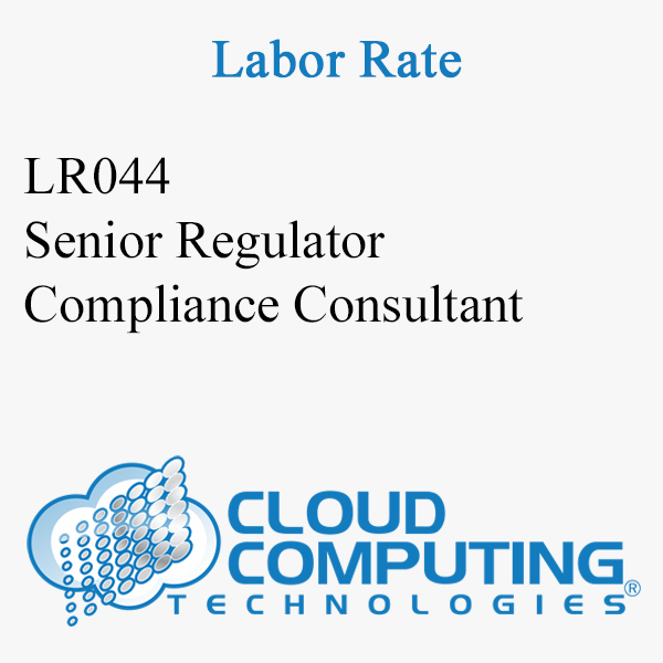 Senior Regulatory Compliance Consultant