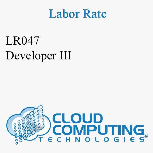 Developer III