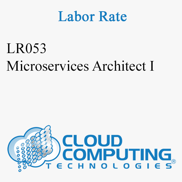 Microservices Architect I