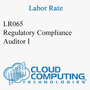 Auditor de Cumplimiento Regulatorio I
