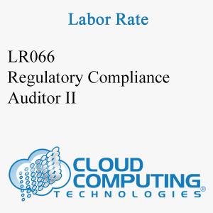 Auditor de Cumplimiento Regulatorio II