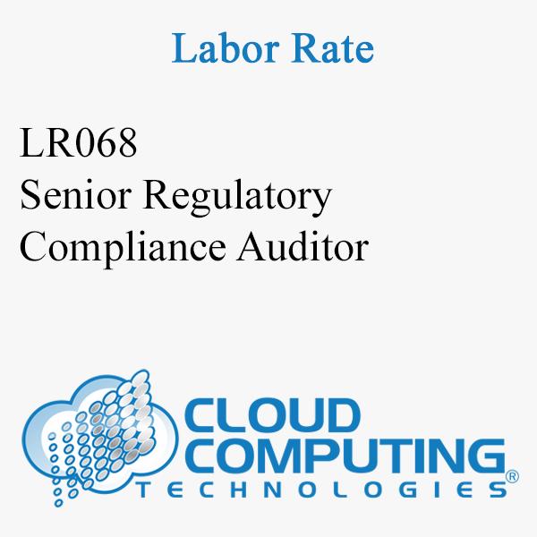 Senior Regulatory Compliance Auditor