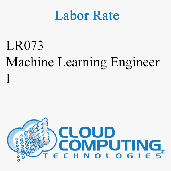 Machine Learning Engineer I