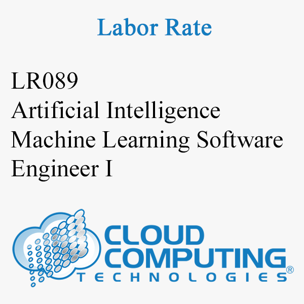 Artificial Intelligence Machine Learning Software Engineer I