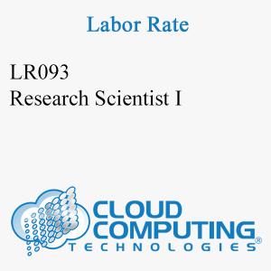 Científico de Investigación I