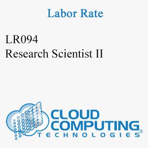 Científico de Investigación II
