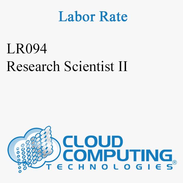 Research Scientist II