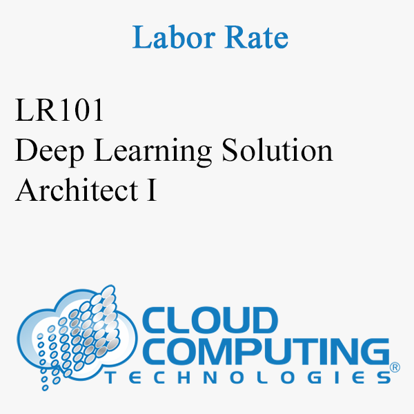 Deep Learning Solution Architect I
