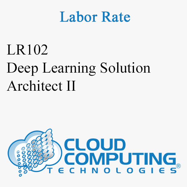 Deep Learning Solution Architect II