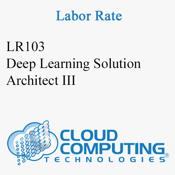 Deep Learning Solution Architect III