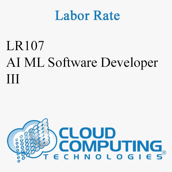 AI ML Software Developer III
