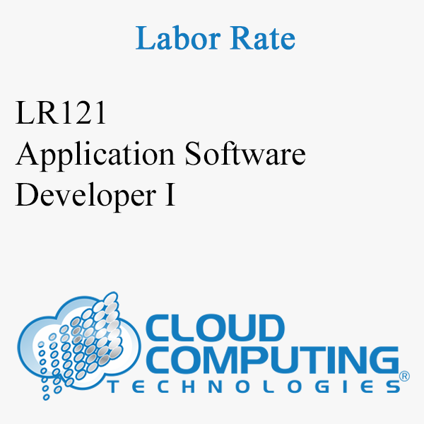 Application Software Developer I