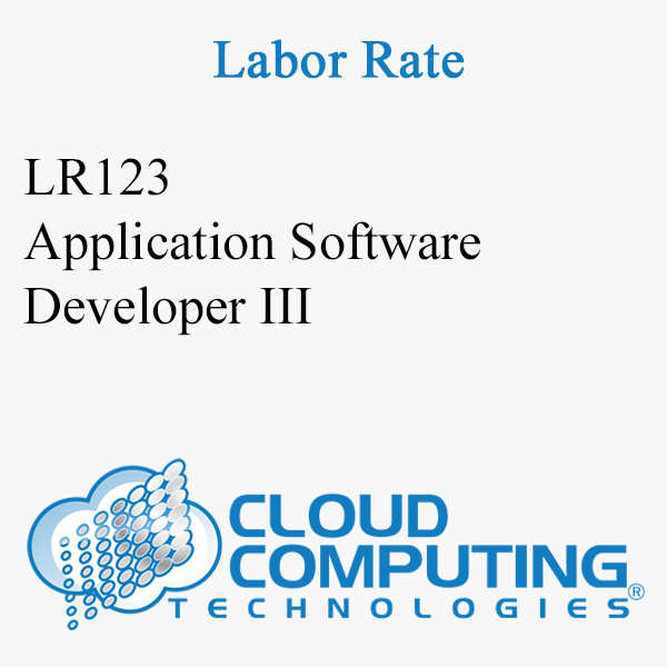 Application Software Developer III