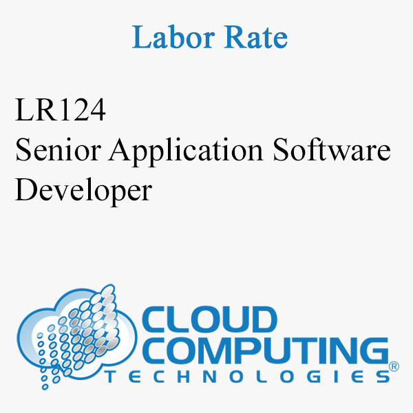 Senior Application Software Developer
