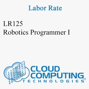 Robotics Programmer I