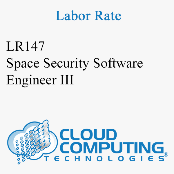 Space Security Software Engineer III