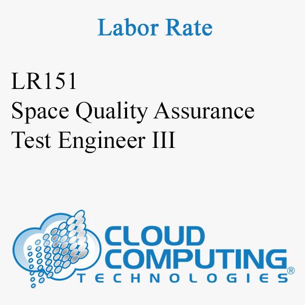 Ingeniero de Pruebas de Aseguramiento de Calidad Espacial III