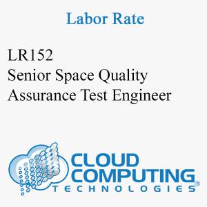 Senior Space Quality Assurance Test Engineer
