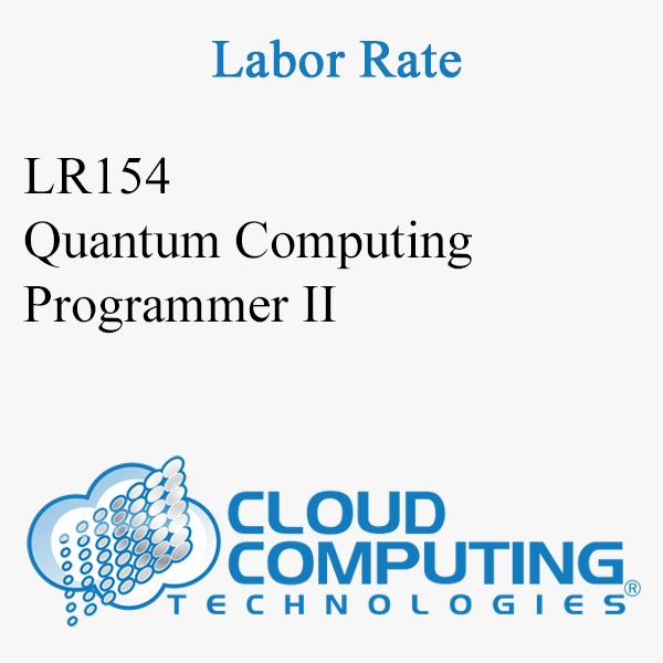 Quantum Computing Programmer II