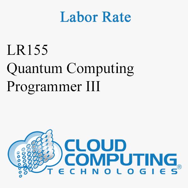 Quantum Computing Programmer III