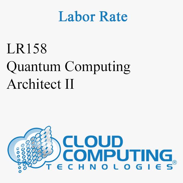 Quantum Computing Architect II