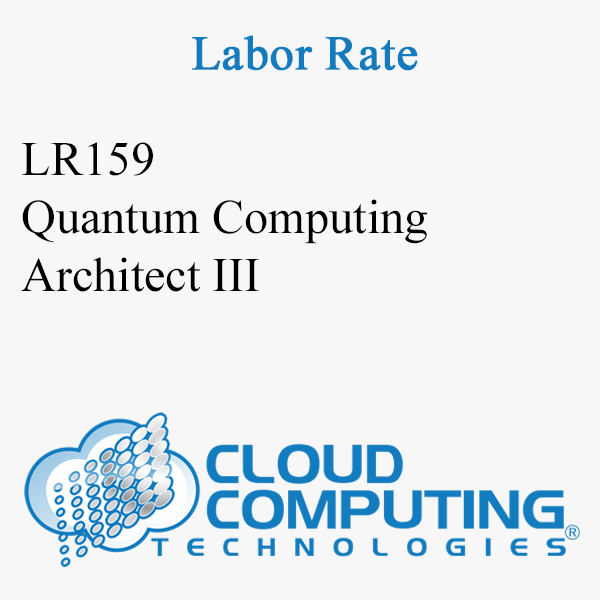 Quantum Computing Architect III