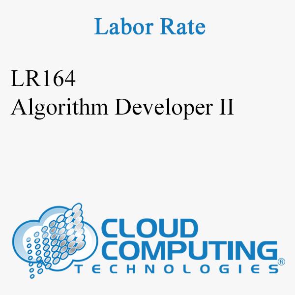 Algorithm Developer II