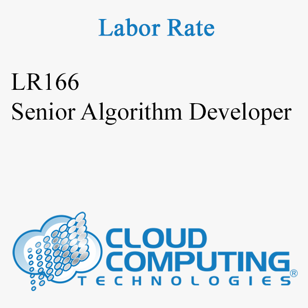 Senior Algorithm Developer