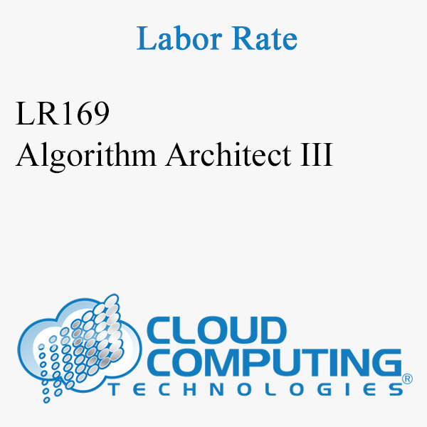 Algorithm Architect III